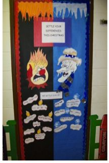 Leader in Me - Oak Grove School Door Decorating at Street School. \  & Christmas Door Decorations -school | Decorating doors | Pinterest ...