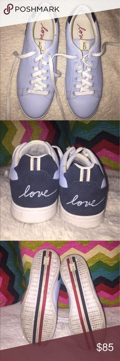Ellen Degeneres Chapalove Sneaker Super comfortable, baby blue sneakers made by the one and only Ellen! Gently worn, but looking for a loving new home:) Shoes Sneakers