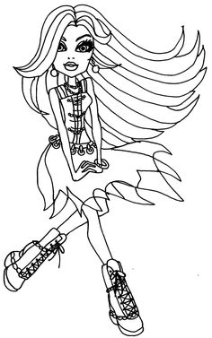 Monster-High-Dolls-Coloring-Pages-Pictures.jpg (1024×1636)