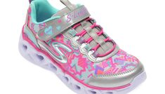 Pantofi sport SKECHERS multicolori, Heart Lights, din material textil si piele ecologica Sketchers, Lights, Sneakers, Shoes, Fashion, Tennis, Moda, Zapatos, Shoes Outlet
