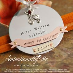 Hey, I found this really awesome Etsy listing at https://www.etsy.com/au/listing/86233393/babys-first-christmas-personalized