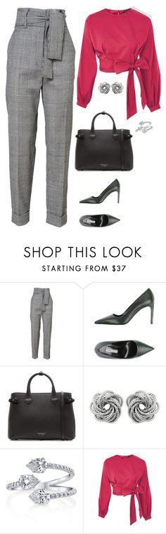 """""""Office Fashion"""" by stylebyshannonk on Polyvore featuring Roberto Festa, Burberry and Topshop"""