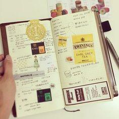 #travelersnotebook
