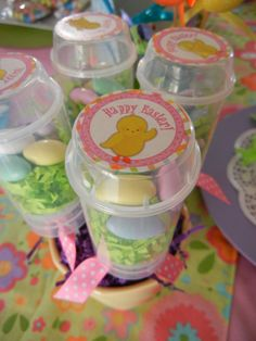 easter push pop nests