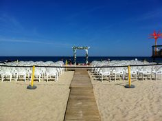 Jersey Shore Wedding Officiant Andrea Purtell, For the ultimate Jersey Shore beach wedding on the beach, have it at Martell's Tiki Bar In Point Pleasant Beach, NJ