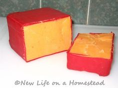 The Homestead Survival | How and Why To Wax Cheese | Food Storage - Homesteading