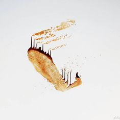 Intricate Fingerprints Paintings made with Coffee – Fubiz Media