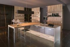 French company Mobalpa, love their modern kitchen designs!