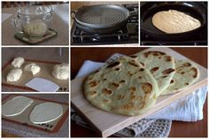 Naan - Indian Flatbread Collage - Complete with recipe...Rosi
