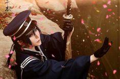 Vocaloid Len - Knife 6 by yuegene on DeviantArt Vocaloid Len, Vocaloid Cosplay, All About Time, Captain Hat, Lens, Popular, Artist, Artwork, Asian