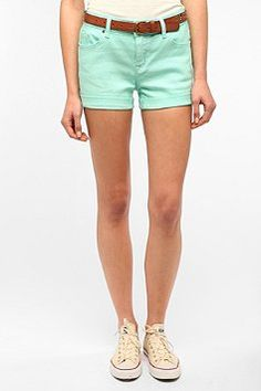 BDG 5-Pocket Short - Teal from Urban Outfitters. I want them...