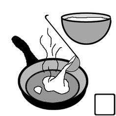 Recettes en classe : exercices de lecture GS CP CE1 Ce2 ULIS à partir de recettes faciles à réaliser en classe - Les coccinelles Crepes, Images, Desserts, Carnival, Party, Silhouette, King Cakes, Tailgate Desserts, Deserts