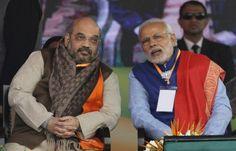 """PM expresses gratitude; Amit Shah says """"negative politics rejected"""""""