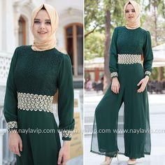 NAYLA COLLECTION - OVERALLS - 52414-01Y #hijab #naylavip #hijabi #hijabfashion #hijabstyle #hijabpress #muslimabaya #islamiccoat #scarf #fashion #turkishdress #clothing #eveningdresses #dailydresses #tunic #vest #skirt #hijabtrends
