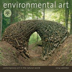 Beautiful calendar! 12 Amazingly Creative Examples of Environmental Art - My Modern Metropolis