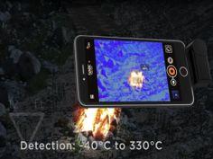 Sehe was der Mensch nicht sieht! Nachtsicht mit Ihrem iPhone und Android Smartphone   Eine Infrarot-Kamera macht sichtbar, was der Mensch nicht sieht! Bislang waren Wärmebildkameras aufgrund ihres Preises und der komplizierten Handhabung nur was für Profis. Jetzt aber können Sie Ihr Smartphone zu einer professionellen Wärmebild-Kamera (Infrarot- und Nachtsicht-Kamera) machen!    Die Seek Thermal Compact XR ist eine Infrarot-Kamera mit True Thermal Sensor wie er auch von Spezial Eins