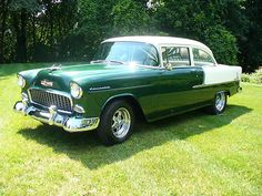 1955 Chevy Bel Air 150 Coupe