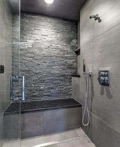 Tips, formulas, as well as overview in pursuance of obtaining the finest outcome and creating the optimum use of walk In shower small bathroom Stone Shower, Stone Bathroom, Small Bathroom, Modern Bathroom, Bathroom Ideas, Bathroom Canvas, Concrete Bathroom, White Bathrooms, Luxury Bathrooms
