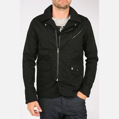 Dirk Jacket Black, $78, now featured on Fab.