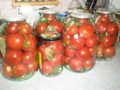 Квашеные помидоры в банках