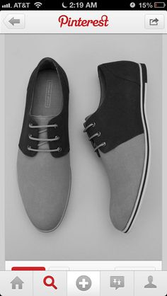 Men's Shoes  Kinda like the two tone aspect of the shoes but can also see it go wrong. Might be good with khakis or jeans though