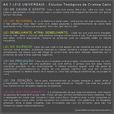 Magia no Dia a Dia: Sete Leis Universais