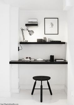 5 inspiring white workspaces (via Bloglovin.com )