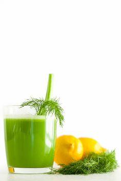 Fennel Apple Celery Juice