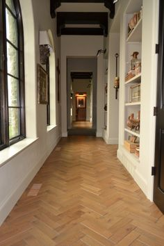 White Oak Three Dimensional Herringbone