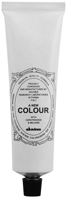 A New Colour Natural.    Ammonia free colour cream enriched with carotenoids and melanin for a strong anti-oxidant action that is able to cover perfectly white hair, to lighten up to three levels to darken and to change the reflex.