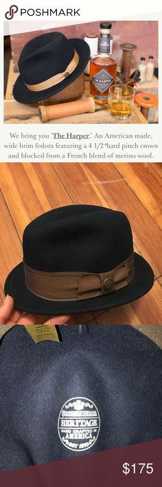 988dc4cc84d Navy wool hat