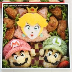 Another mario bento idea
