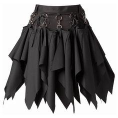 スカート(サイドベルト付きタイトスカート) | ピースナウ(PEACENOW) | ファッション通販 マルイウェブチャネル ❤ liked on Polyvore featuring skirts, bottoms, steampunk, saias, steampunk skirt and steam punk skirt