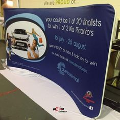 Custom size 1500mm high #blueroutemall Kia Picanto, Wall Banner, Exhibition Display, Banner Printing, Banners, Pop, Expo Stand, Popular, Pop Music