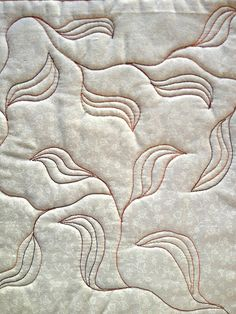 Free Motion Quilt Patterns by Living Water Quilter, via Flickr