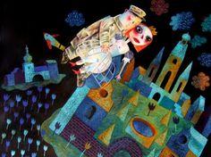 Exhibitions -Clive Hicks-Jenkins : Telling Tales- Oriel Tegfryn