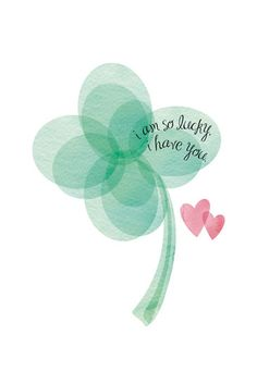 art prints - Lucky Clover by Christy