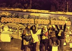 Mural yogyakarta, 2014 #hefihappytraveller