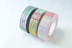 3 style japan Washi Tape sample 50cm x 15mm per by shekphoebe