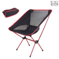 Chairs And Seats 19985: Portable Chair Folding Seat Stool Fishing Camping  Hiking Beach Picnic Bbq