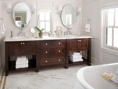 Master Bath Vanity Inspiration Bathroom Traditional Freestanding With Dark Lacquer Finishing Ideas And Double Sink Design