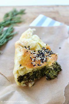 ullatrulla backt und bastelt: Mittagessen to go | Rezept für Spinat-Schafskäse-Quiche
