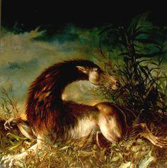 Leoncavallo - oil on canvas