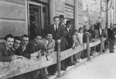 Alle corse dei cavalli - Corso VI Aprile (corso stretto) - 20 giugno 1946 ALCAMO Sicilia    #TuscanyAgriturismoGiratola