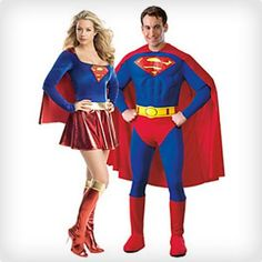 Supergirl and Superman Costumes