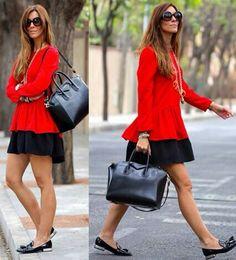 Rojo y negro by Kuka chic
