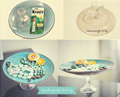DIY Cupcake or Jewelry Stand