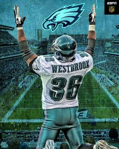 Congratulations Brian Westbrook on being inducted into the Philadelphia Eagles Hall of Fame, October 19, 2015.