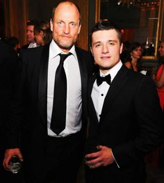Josh and Woody at the White House Correspondents' Dinner Cocktail Party