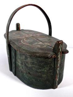 Antique Scandinavian Brides Box // antique by CityGirlAntiques
